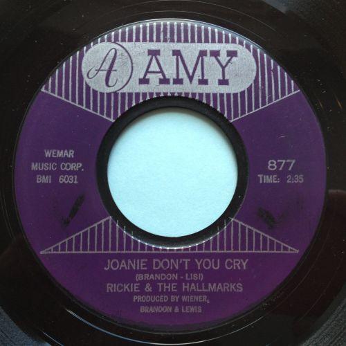 Rickie & Hallmarks - Joanie don't you cry - Amy - Ex-