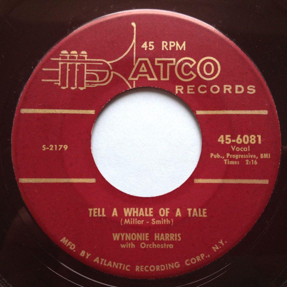 Wynonie Harris - Whale of a tale - Atco - VG+