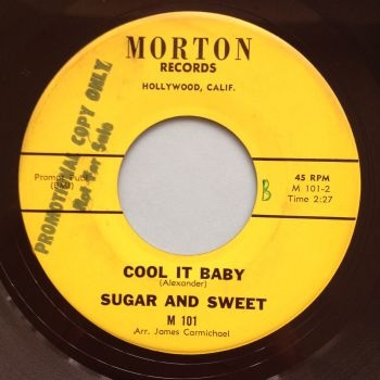 Sugar and Sweet - Cool it baby - Morton - Ex