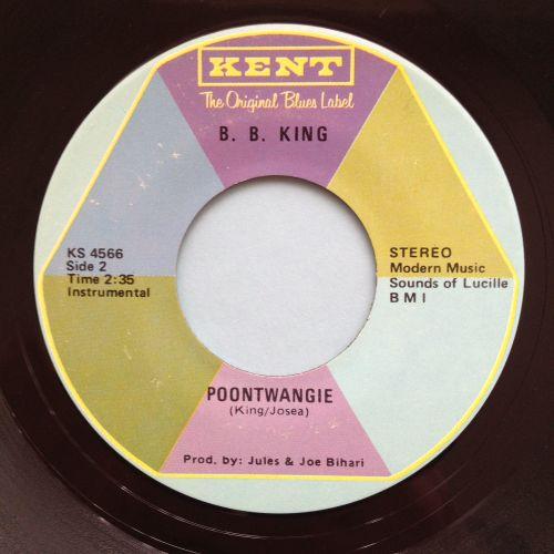 B B King - Poontwangie - Kent - Ex