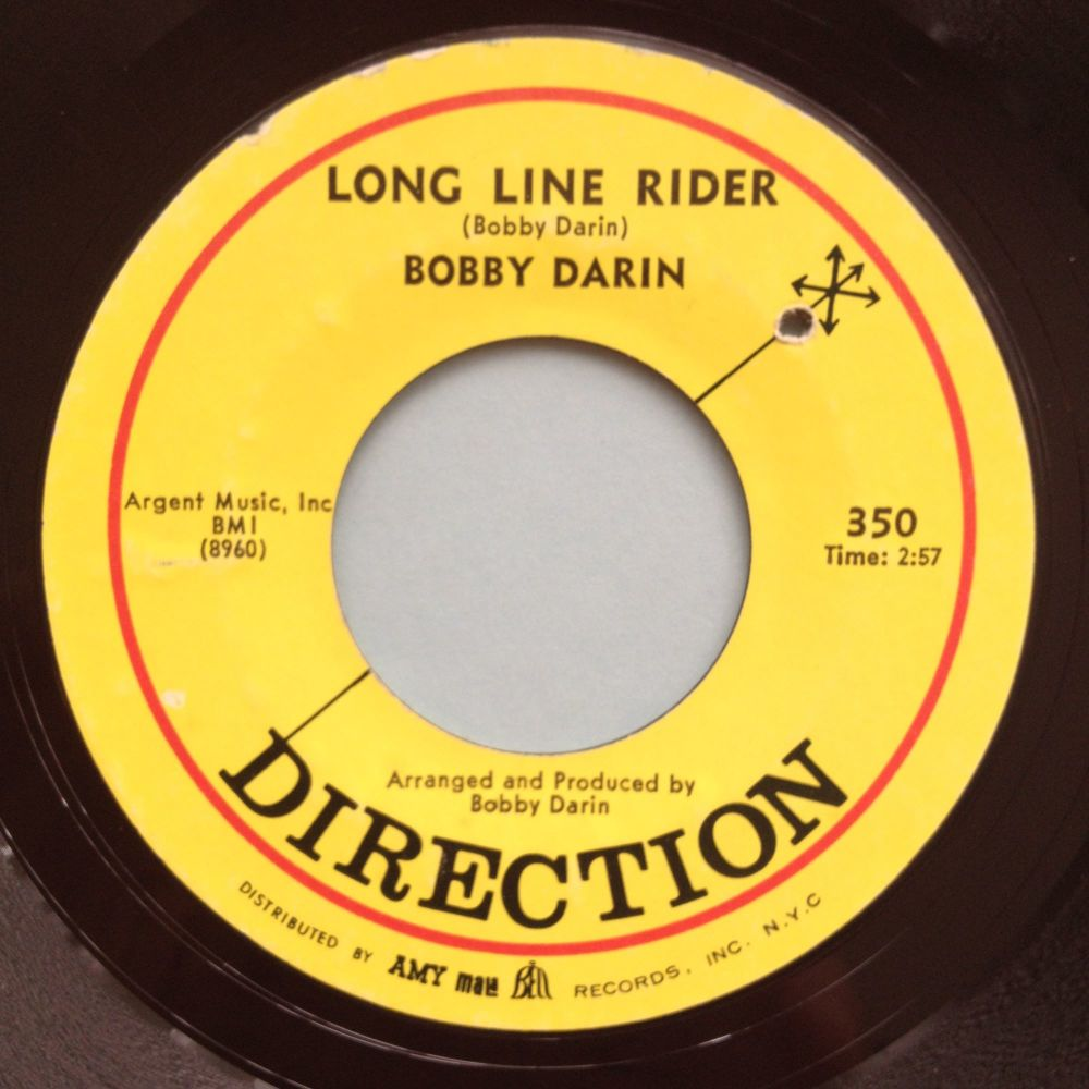 Bobby Darin - Long line rider - Direction - Ex