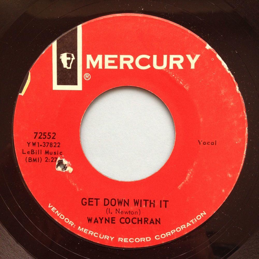 Wayne Cochran - Get down with it - Mercury - Ex- (d/h)