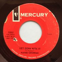 Wayne Cochran - Get down with it - Mercury - Ex- (d/h)