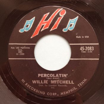 Willie Mitchell - Percolatin' - Hi - VG+