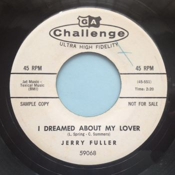 Jerry Fuller - I dreamed about my lover - Challenge Promo - Ex (wol)