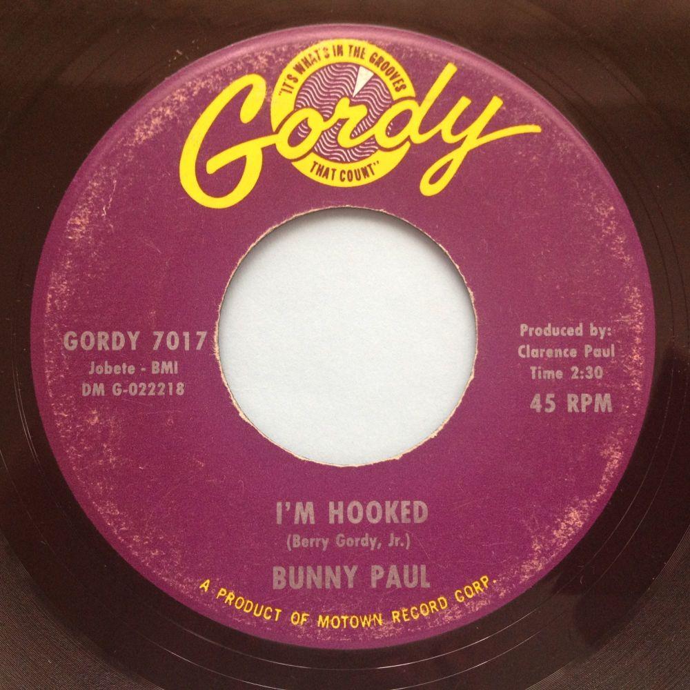 Bunny Paul - I'm hooked - Gordy - VG+