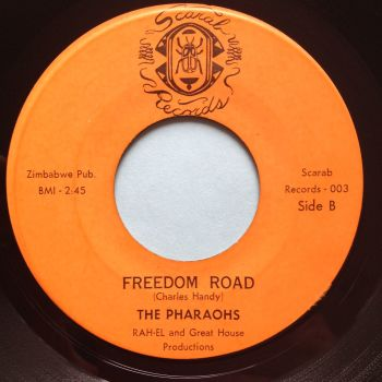 Pharoahs - Freedom Road - Scarab - Ex- (slight storage warp nap)
