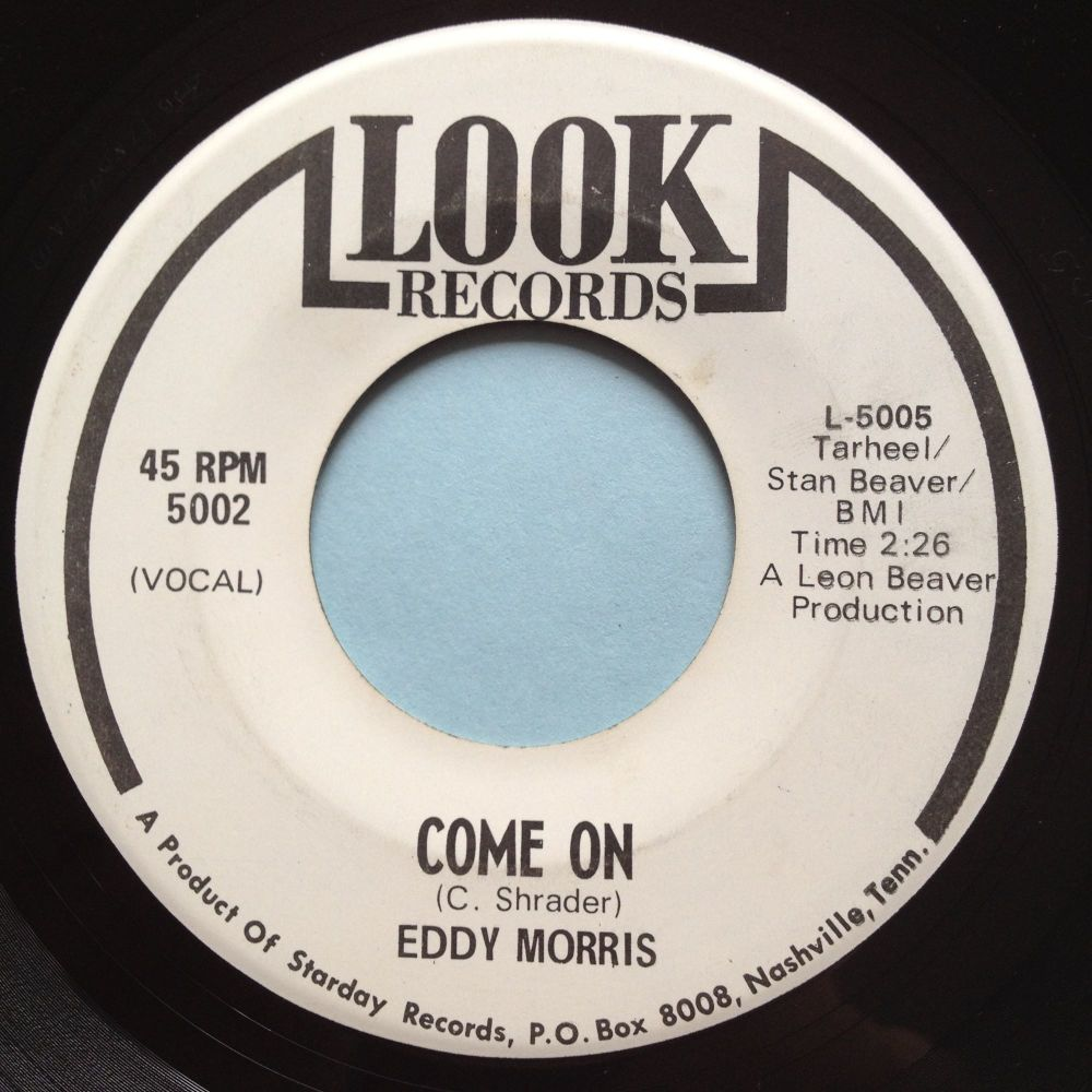 Eddy Morris - Come on - Look promo - Ex