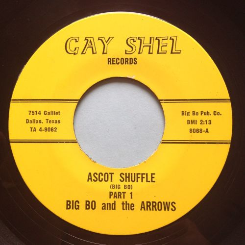 Big Bo and the Arrows - Ascot shuffle Pt2 - Gay Shel - Ex (slight warp nap)