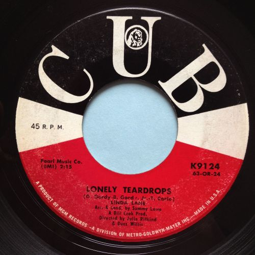 Linda Lane - Lonely teardrops - Cub - VG+
