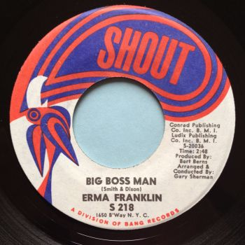 Erma Franklin - Big Boss Man - Shout - Ex