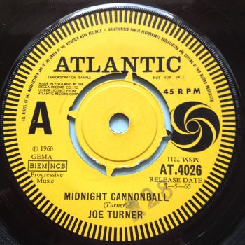 Joe Turner - Midnight Cannonball - UK Atlantic Demo - Ex-