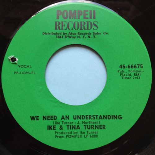 Ike and Tina Turner - We need an understanding - Pompeii - Ex