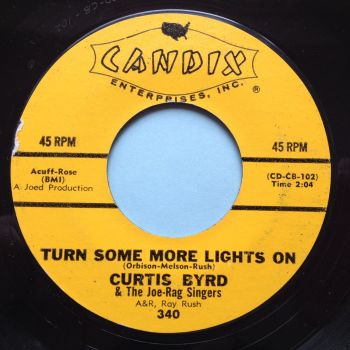 Curtis Byrd - Turn some more light on / Pretty woman - Candix - Ex