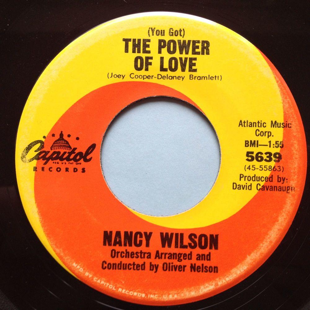 Nancy Wilson - (You got) The power of love - Capitol - Ex