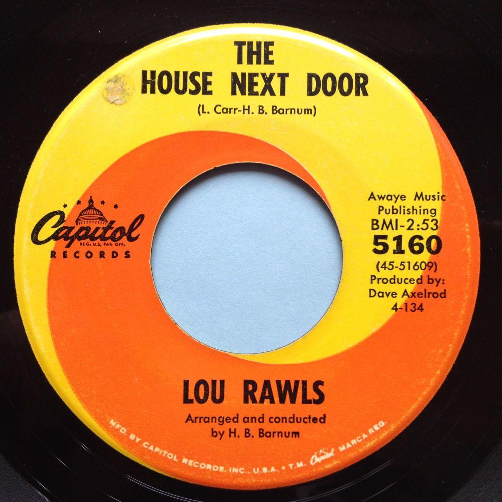 Lou Rawls - The house next door - Capitol - Ex