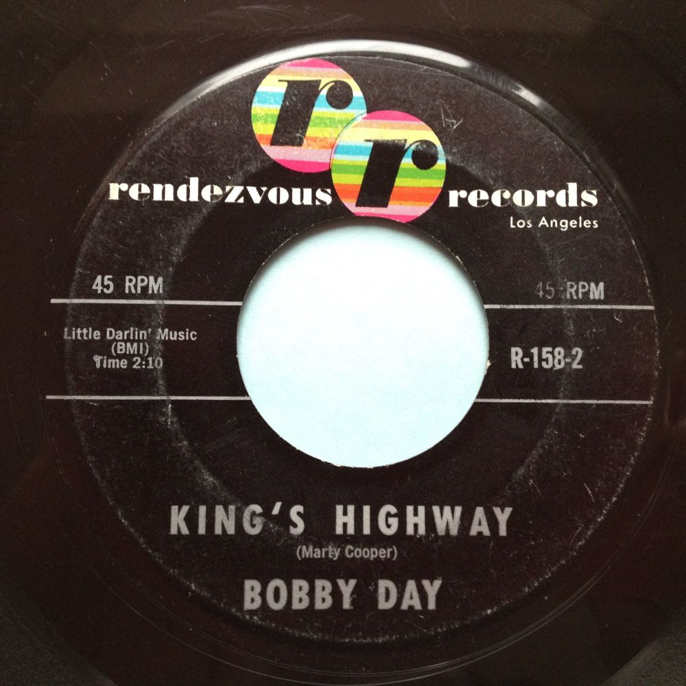 Bobby Day - King's Highway - Rendezvous - VG+