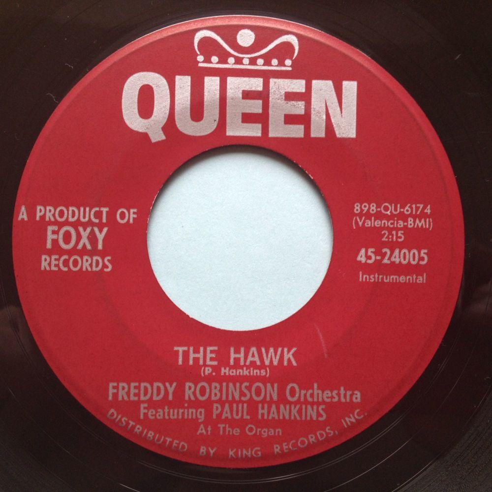 Freddy Robinson Orchestra - The Hawk - Queen - Ex