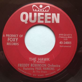 Freddy Robinson Orchestra - The Hawk - Queen - Ex