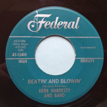 Herb Hardesty - Beatin' and Blowin' / 69 mothers place - Federal - Ex