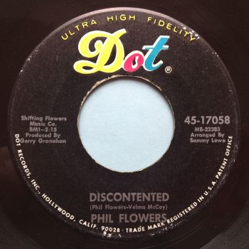 Phil Flowers - Discontented - Dot - Ex-