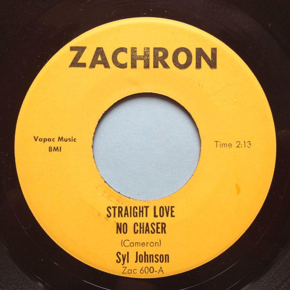Syl Johnson - Straight love, no chaser / Surrounded - Zachron - Ex