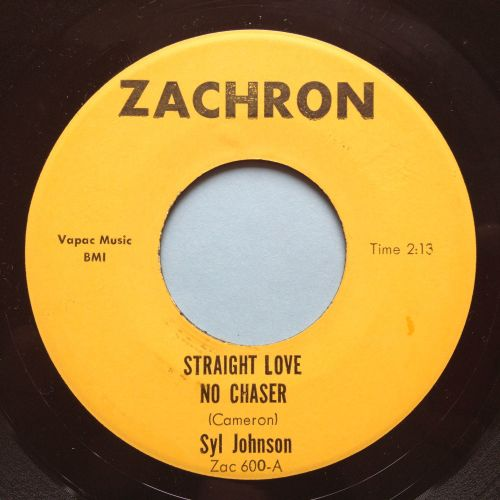 Syl Johnson - Straight love, no chaser / Surrounded - Zachron - Ex