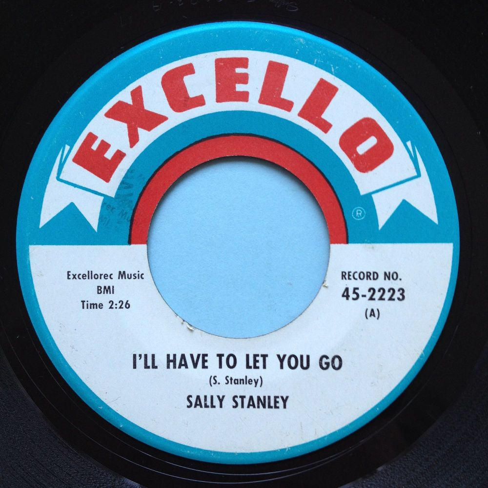 Sally Stanley - I'll have to let you go - Excello - VG+