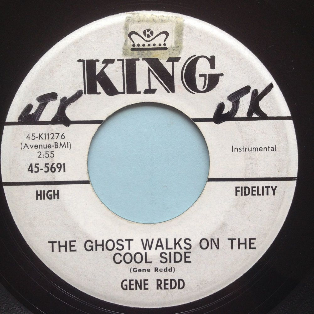 Gene Redd - The ghost walks on the cool side - King promo - Ex-