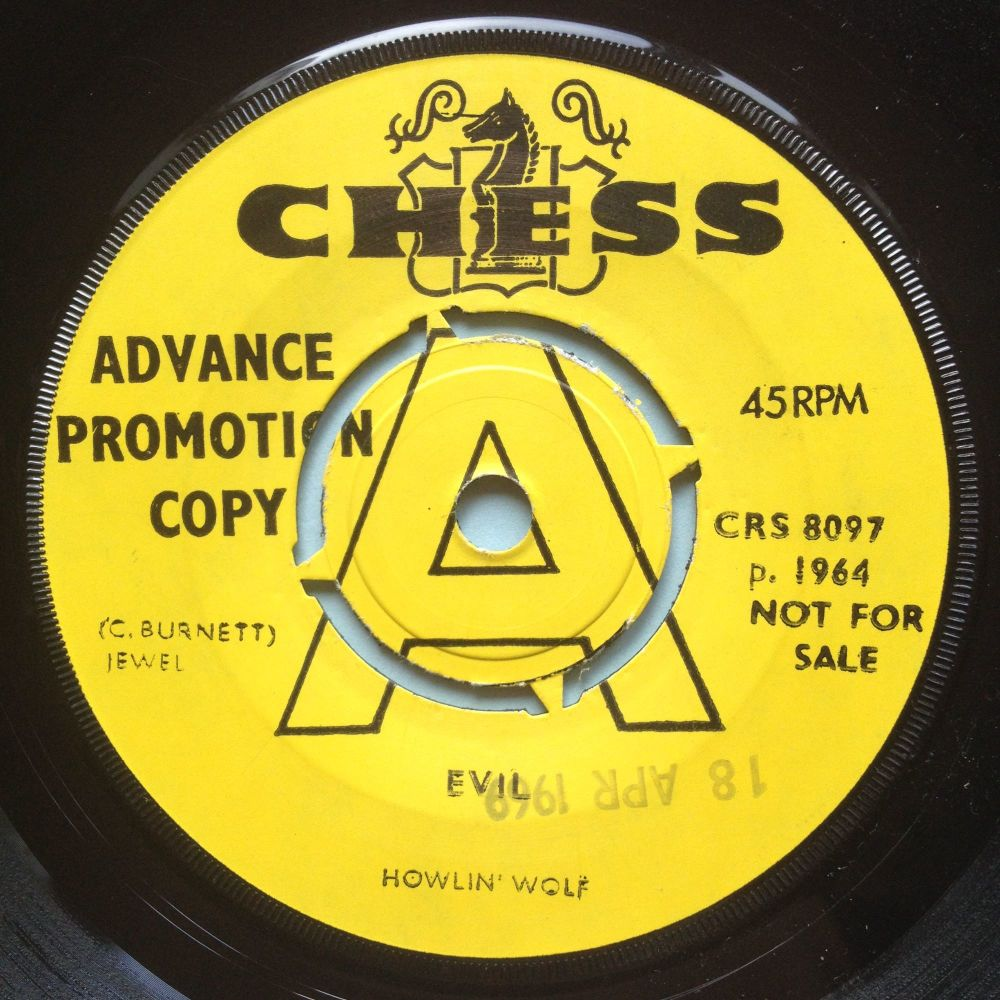 Howlin' Wolf - Evil - UK Chess demo - VG+