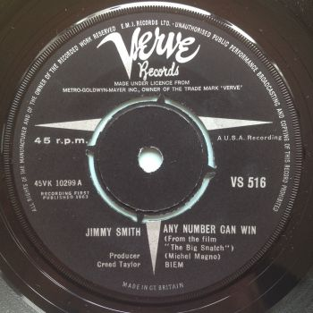 Jimmy Smith - Any number can win - UK Verve - Ex