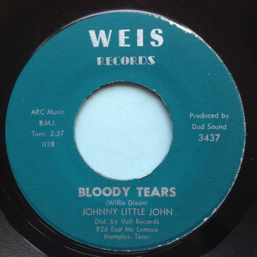 Johnny Little John - Bloody Tears - Weis - Ex-