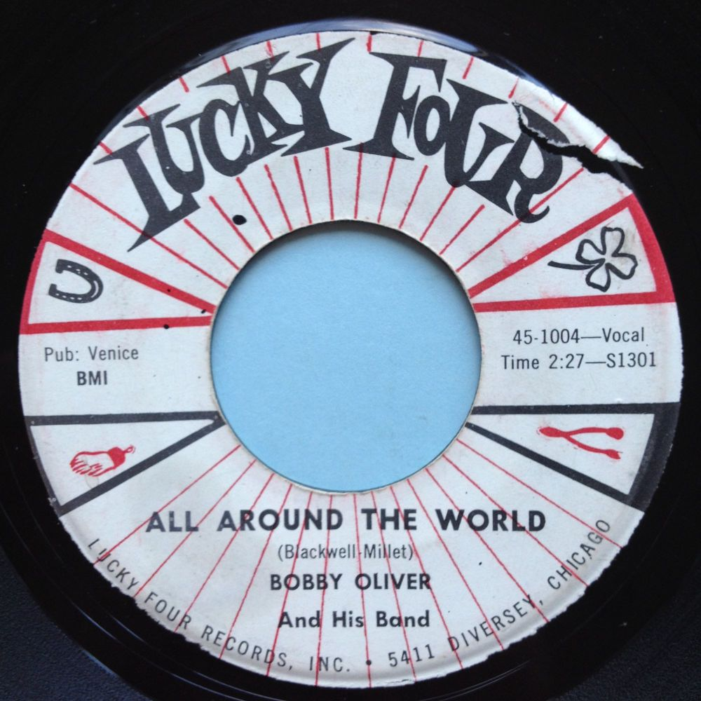 Bobby Oliver - All around the world - Lucky Four - VG+