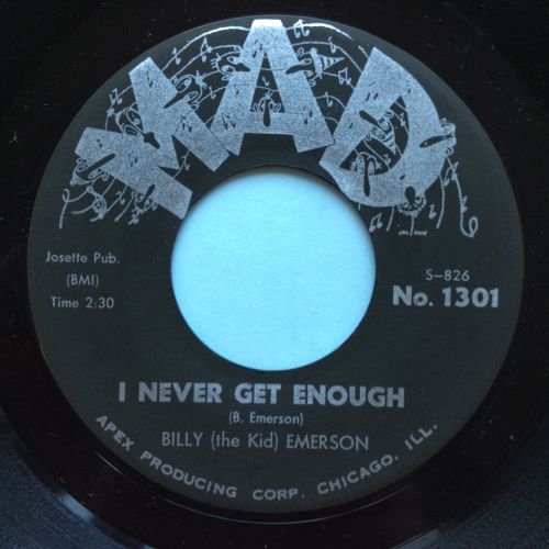 Billy (the kid) Emerson - I never get enough - Mad - Ex