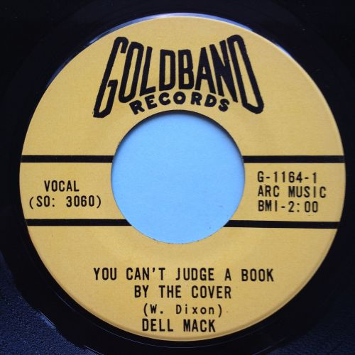 Dell Mack - You can't judge a book by the cover - Goldband - Ex