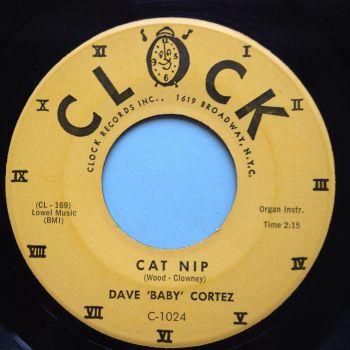 Dave 'Baby' Cortez - Cat Nip - Clock - Ex