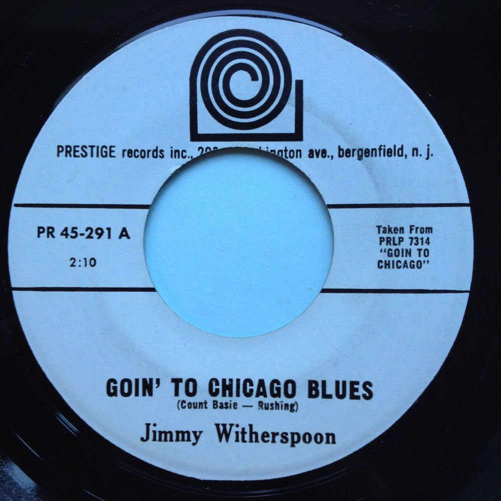 Jimmy Witherspoon - Goin' to Chicago Blues - Prestige - Ex