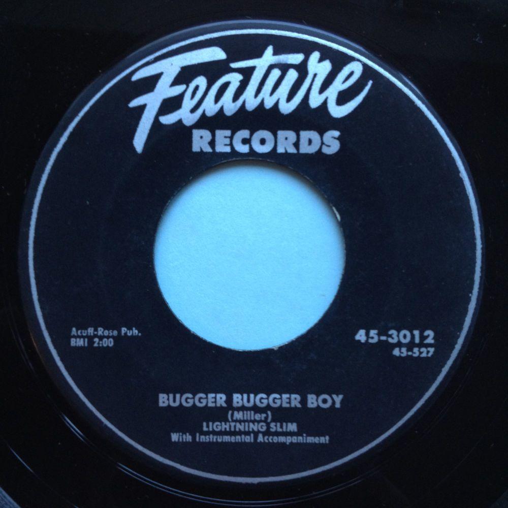 Lightning Slim - Bugger Bugger Boy - Feature - Ex