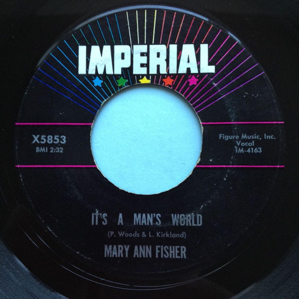Mary Ann Fisher - It's a mans world - Imperial - Ex