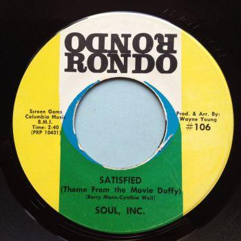 Soul Inc - Satisfied - Rondo - Ex
