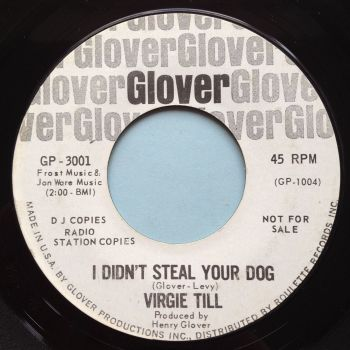 Virgie Til - I didn't steal your dog - Glover promo - Ex-