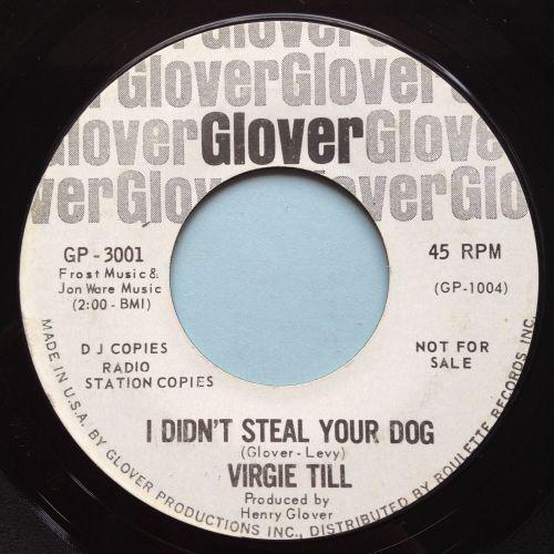 Virgie Til - I didn't steal your dog - Glover promo - Ex-