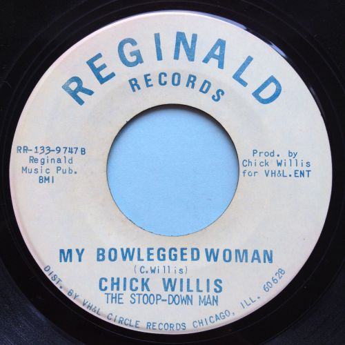 Chick Willis - My bowlegged woman - Reginald - Ex