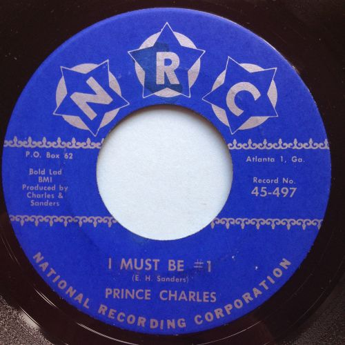 Prince Charles - I must be #1 - NRC - M-