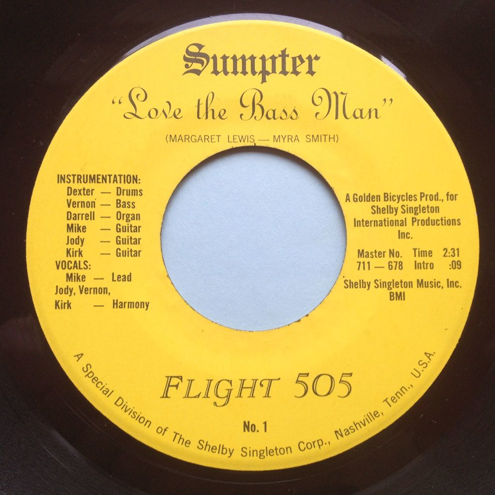 Flight 505 - Love the Bassman - Sumpter - M-