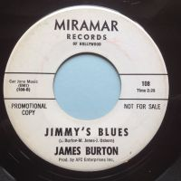 James Burton - Jimmys Blues - Miramar promo - Ex-