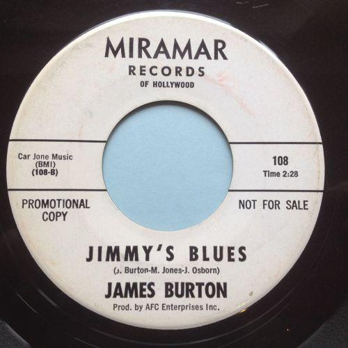 James Burton - Jimmys Blues - Miramar promo - Ex-