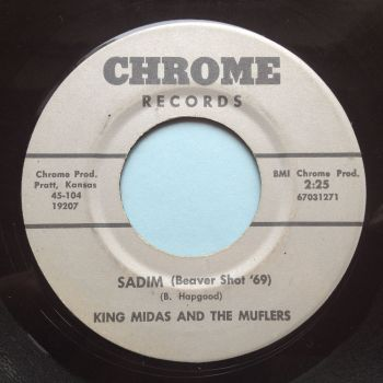 King Midas and Muflers - Sadim (Beaver shot '69) / Get down with it - Chrome - Ex-