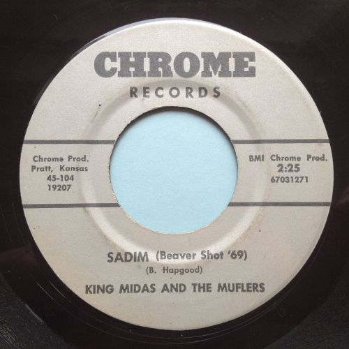 King Midas and Muflers - Sadim (Beaver shot '69) / Get down with it - Chrom