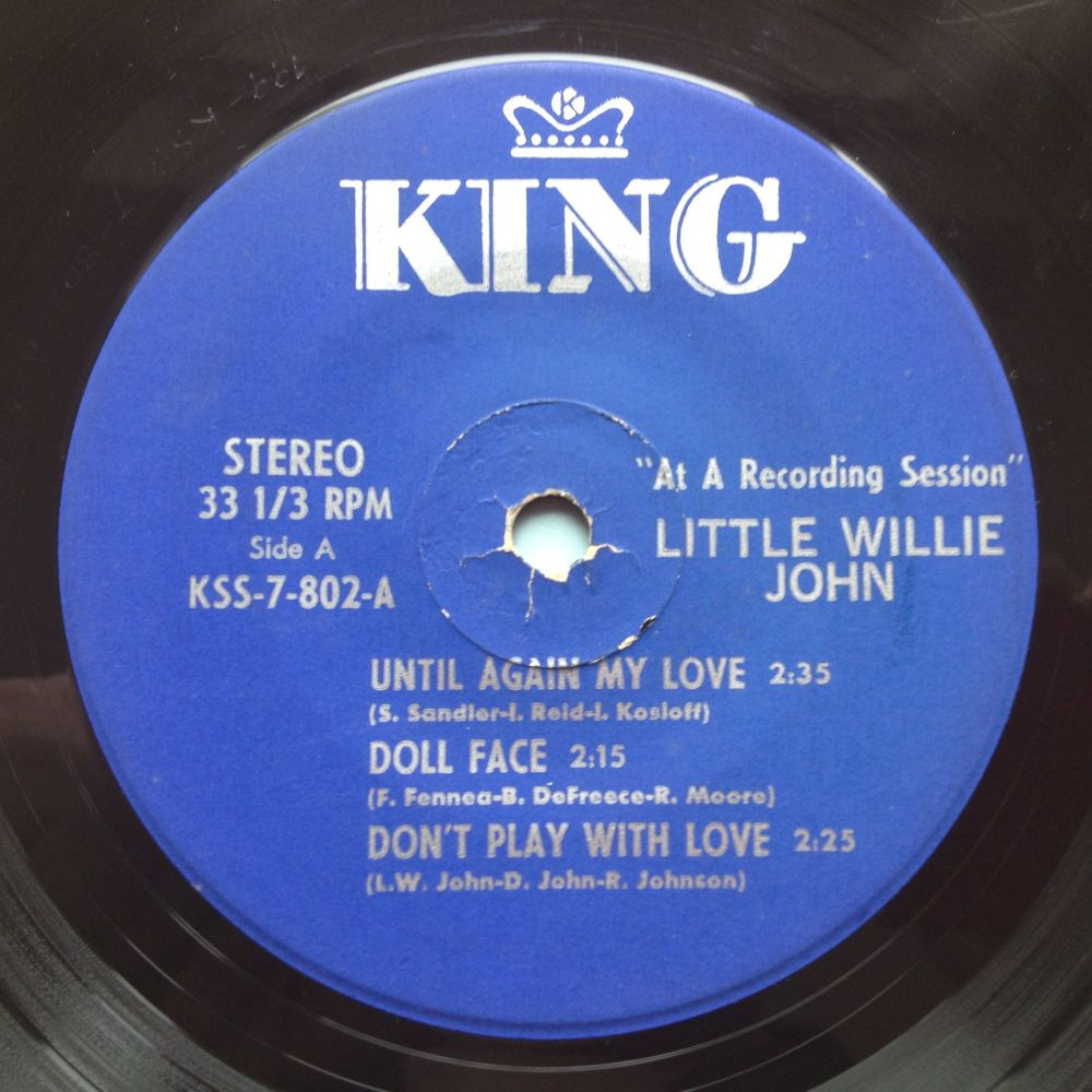 Little Willie John - 6 track King EP - Don't play with love / Until again m